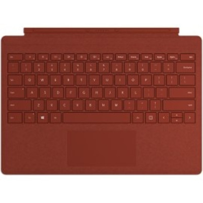 Microsoft Surface Pro Signature Type Cover - QWERTZ Mobile device keyboard - Rood