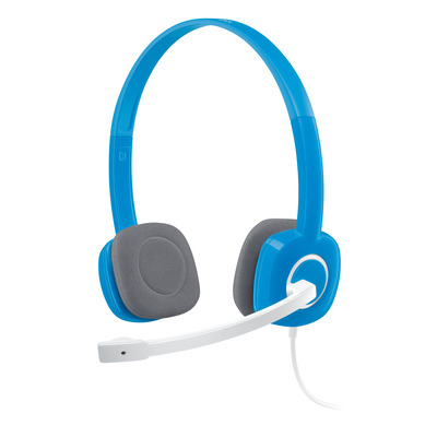 Logitech headset: H150 - Blauw