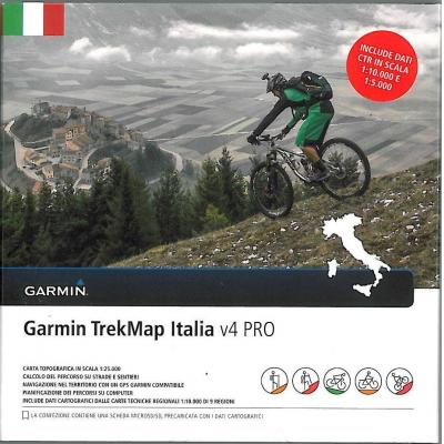 Garmin : TrekMap Italia v4 PRO