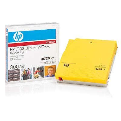 Hewlett Packard Enterprise Ultrium 800 GB WORM (Write Once Read Many) Data Cartridge Datatape .....