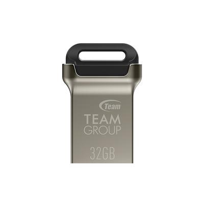 Team Group C162 USB flash drive - Zwart,Zilver