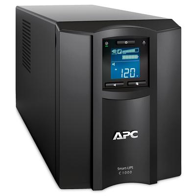 APC Smart-SMC1000IC Noodstroomvoeding - 8x C13, USB, SmartConnect, 1000VA UPS - Zwart