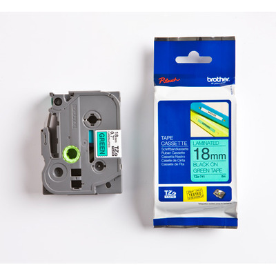 Brother TZE-741 labelprinter tape