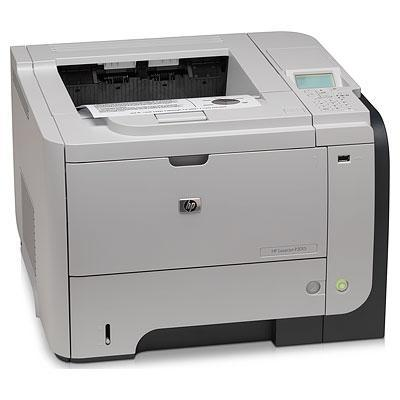HP laserprinter: LaserJet Enterprise P3015dn - Zwart