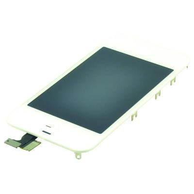 "Psa parts mobile phone spare part: 8.89 cm (3.5 "") LCD screen, touch panel assy, Apple iPhone 4, white - Wit"