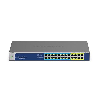 Netgear GS524UP 24-Port Gigabit PoE++ Unmanaged Switch - Grijs