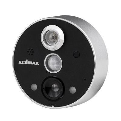 "Edimax beveiligingscamera: 1/6.5"" CMOS, 2.59mm / F2.8, IR LED, MJPEG, 640x480/320x240 15/30 fps, microSD/SDHC, 12 ....."