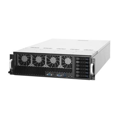Asus server barebone: ESC8000 G3 - Zwart