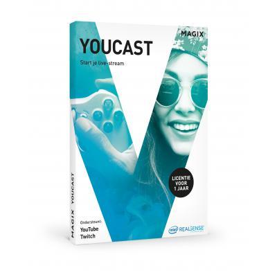 Magix algemene utilitie: Magix, Youcast