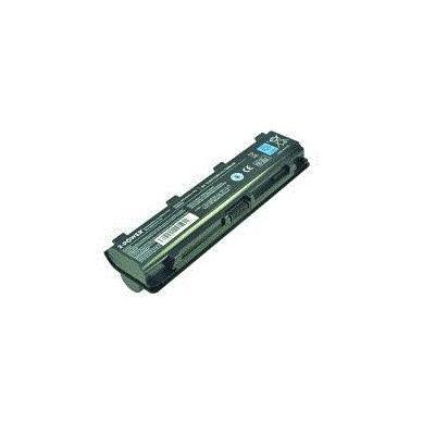 2-power batterij: Main Battery Pack 11.1V 7800mAh Toshiba Satellite L800 - Zwart