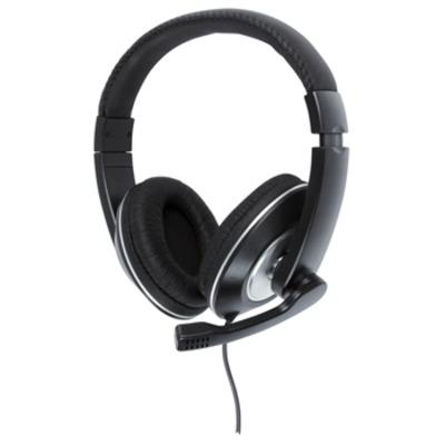 König headset: 20 - 20000 Hz, 105 dB, 32 Ohm, Black/Silver - Zwart, Zilver