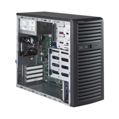 Supermicro SuperServer 5039D-i Server barebone - Zwart