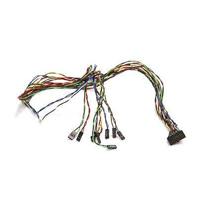 Supermicro Front Panel Switch Cable, 20-pin Split, 30cm Kabel adapter