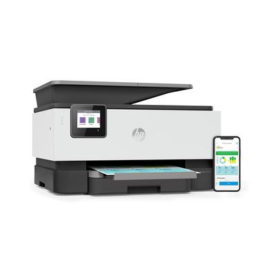 HP 9012e + Multifunctional - Zwart, Cyaan, Magenta, Geel