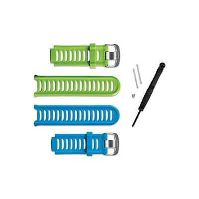 Garmin horloge-band: Forerunner 910XT-accessoirebanden - Blauw, Groen