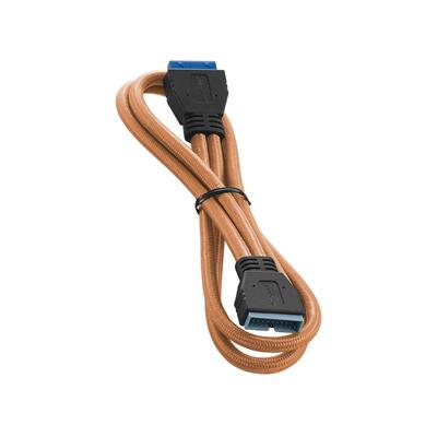 Cablemod ModFlex Internal USB 3.0, 50cm USB kabel - Oranje