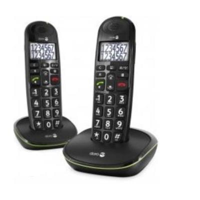 Doro PhoneEasy 110 Dect telefoon - Zwart