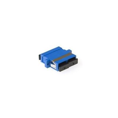 Intronics optische cross connect apparatuur: Fiber optic SC-SC duplex adapter