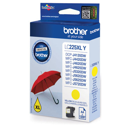 Brother LC-225XLY inktcartridge