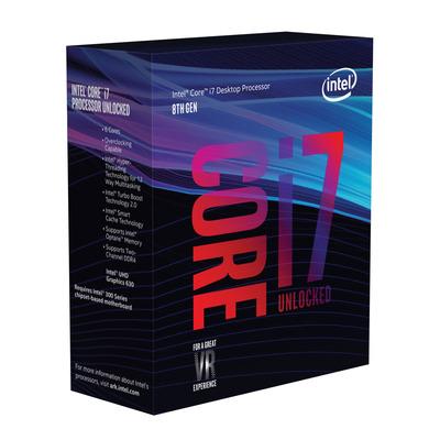Intel processor: Core i7-8700