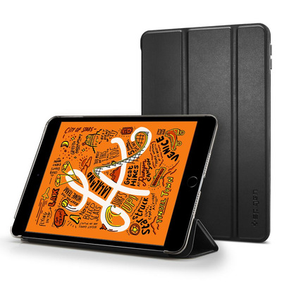 Spigen Smart Fold Tablet case - Zwart