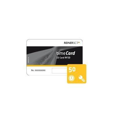 Reiner sct access card: timeCard Chipkarten 50 (DES)