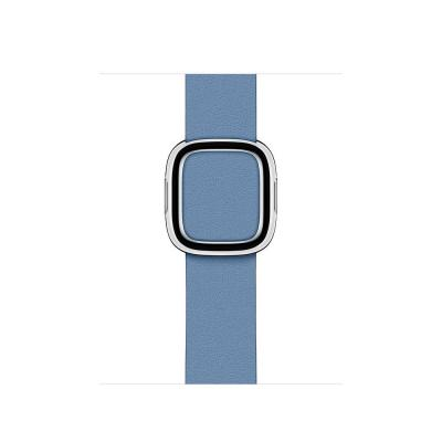 Apple 40mm Cornflower Modern Buckle - Medium Horloge-band - Blauw