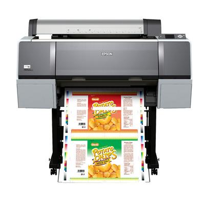 Epson grootformaat printer: Stylus Pro WT7900 - Zwart, Cyaan, Groen, Lichtyaan, Lichtmagenta, Magenta, Oranje, Wit, Geel