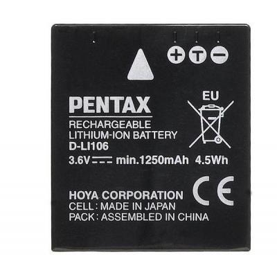 Pentax D-Li106 - Zwart