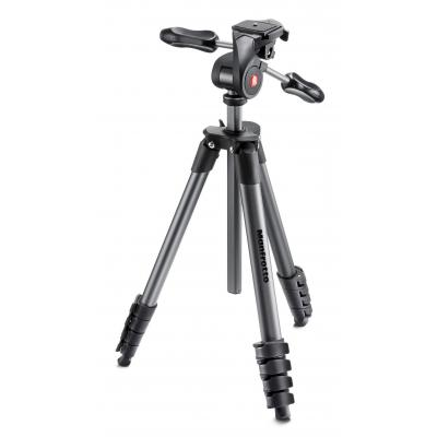 Manfrotto tripod: Compact Advanced Black - Zwart