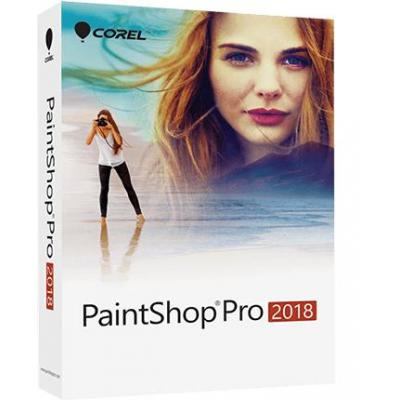 Corel grafische software: PaintShop Pro 2018