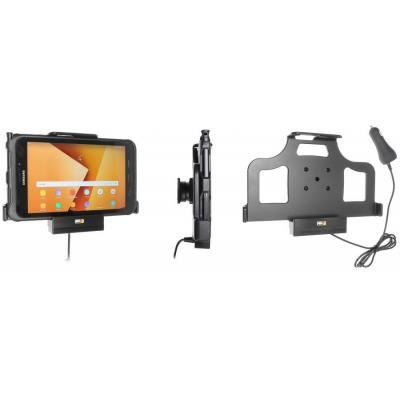 Brodit Active Holder, Cig-Plug, Samsung Galaxy Tab Active 2, Tilt, Swivel houder - Zwart