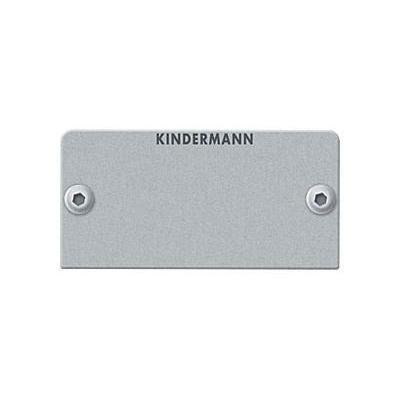 Kindermann Blind cover (half size) Montagekit - Zilver