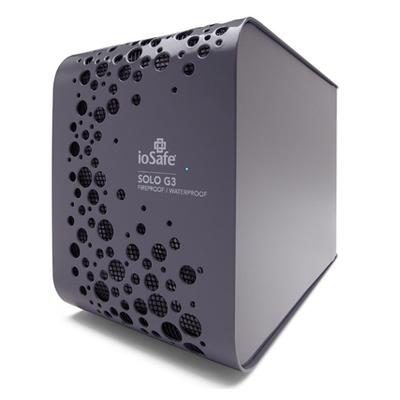 IoSafe SOLO G3 3TB Externe harde schijf - Zwart