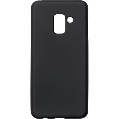 ESTUFF Samsung Galaxy A8 (2018) rubber case Mobile phone case - Zwart