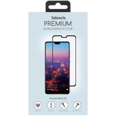 Gehard Glas Premium Screenprotector Huawei Mate 30 - Zwart / Black Mobile phone case