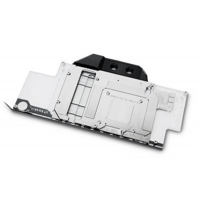 EK Water Blocks EK-FC1080 GTX Ti Strix RGB - Nickel water & freon koeling - Zwart, Wit