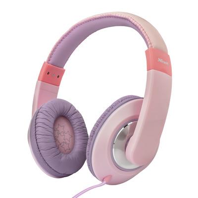 Trust Sonin - Kinder koptelefoon - On-ear - Roze/Paars Headset