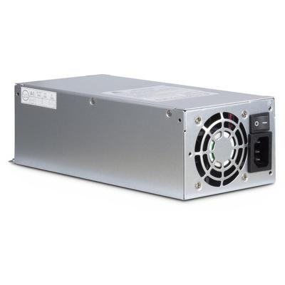 Inter-Tech ASPOWER U2A-B20600-S Power supply unit - Roestvrijstaal