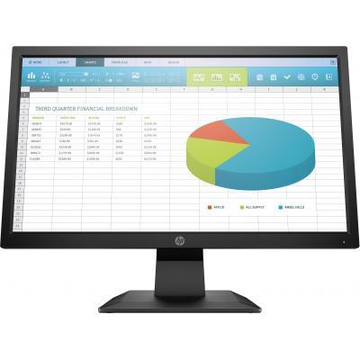 "HP ProDisplay P204 19,5"" HD+ TN Monitor - Zwart"