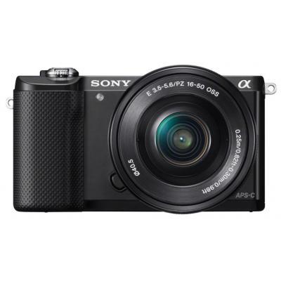 Sony digitale camera: α ILCE-5000L - Zwart
