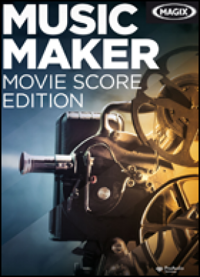 Magix audio software: Music Maker Moviescore Edition 6 (download versie)