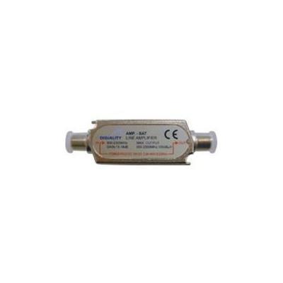 Digiality kabel splitter of combiner: Line amplifier - Zilver