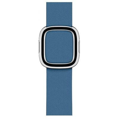 Apple : Cape Cod-blauw bandje, moderne gesp (40 mm) - Medium