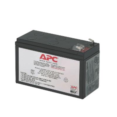 APC Batterij Vervangings Cartridge RBC106 UPS batterij - Zwart
