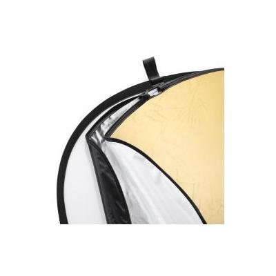 Walimex fotostudioreflector: 5in1 Foldable Reflector Set, 150x200cm - Zwart, Goud, Zilver, Transparant, Wit