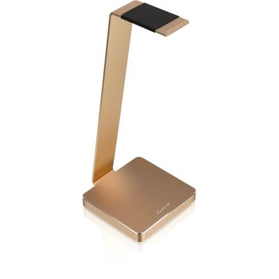 Thermaltake component: LUXA2 Electric One Gold Aluminum Headphone Stand