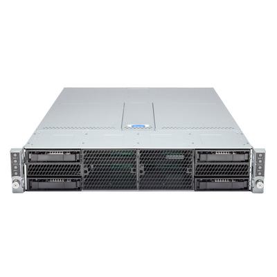 Intel Server Chassis H2204XXLRE - Zwart,Grijs