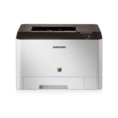 Samsung laserprinter: Kleuren laser printer CLP-415N - Zwart, Cyaan, Magenta, Geel