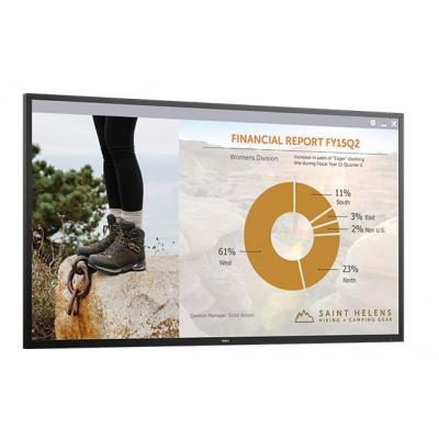 Dell monitor: C7016H - Zwart